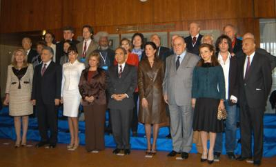 At The 6th Annual Meeting of UNESCO Goodwill Ambassadors