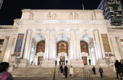 The New York Public library, November 06, 2017