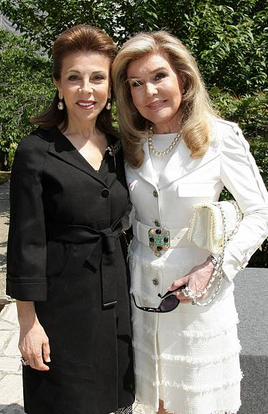 Annual Meeting of Goodwill Ambassadors of UNESCO in Paris, France on May 20th, 2008 – Ms Marianna Vardinoyannis and S.A.R – Princess Firyal