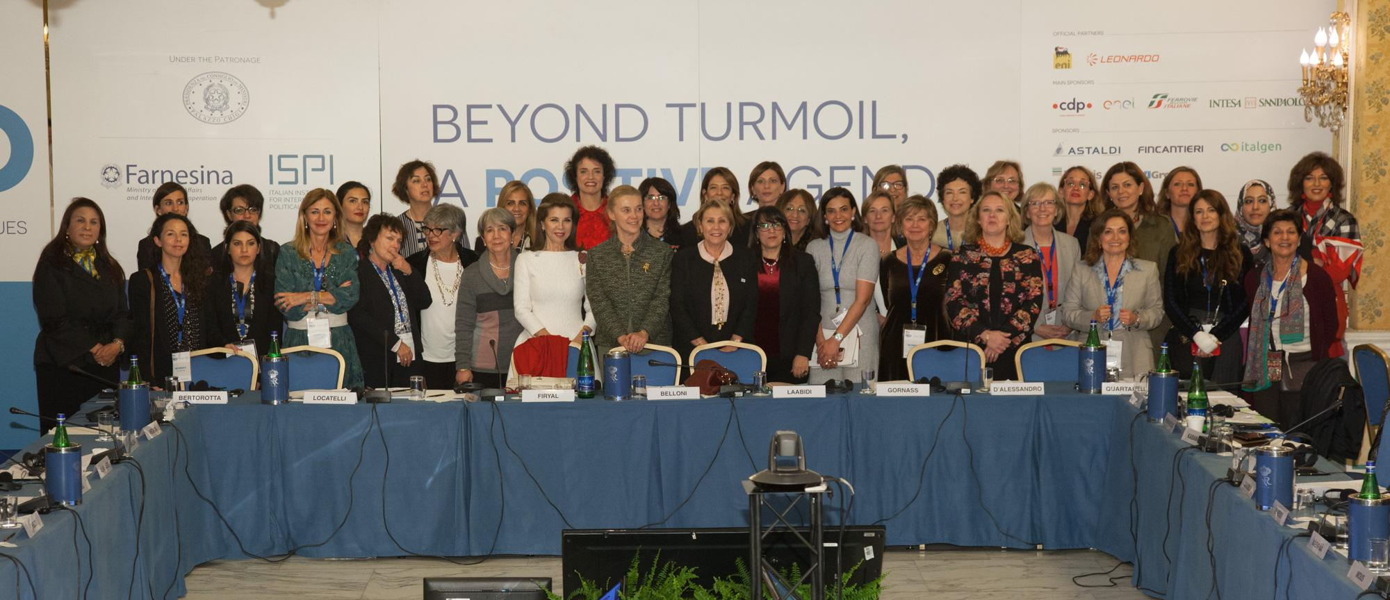 Rome MED conference Women's Forum, November 29, 2017.